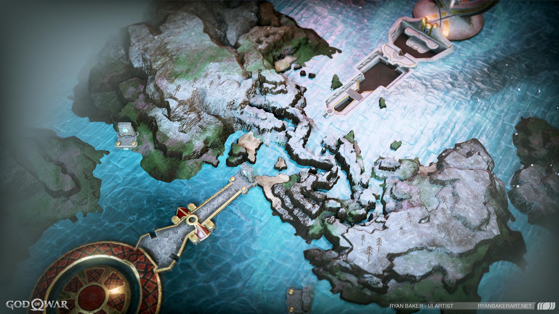 Www Ryanbakerart Net God Of War Realm Maps