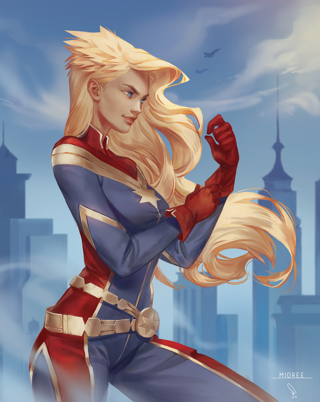 Mioree captain marvel samples dp jan 2018 small