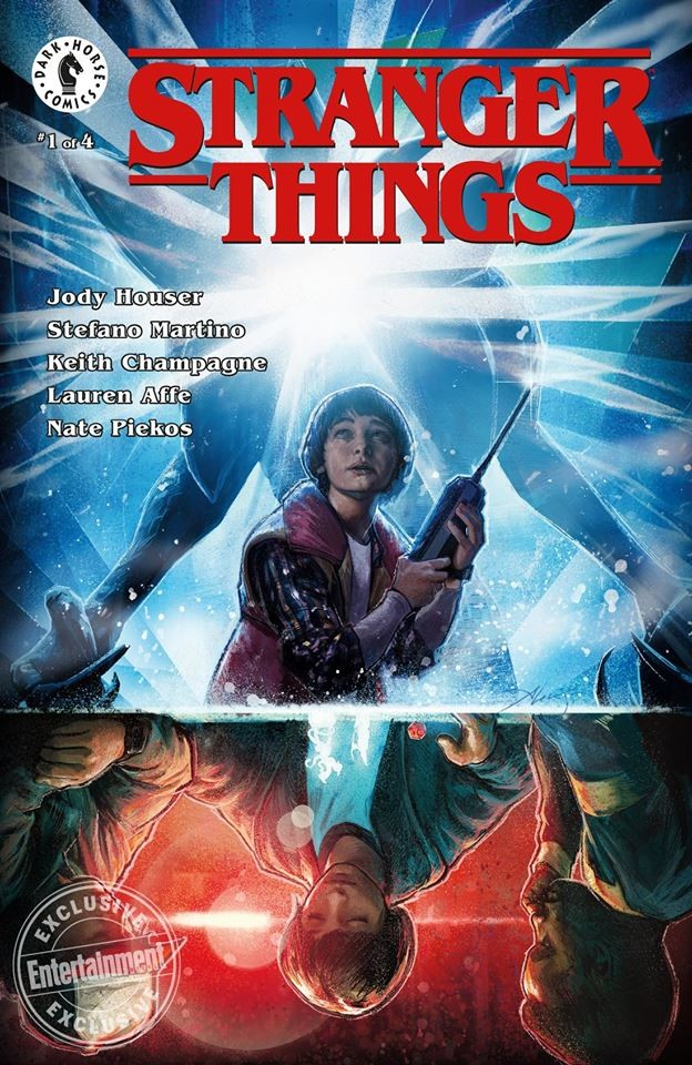 The final cover with the graphic layout also really 80's. Do you know that the Stranger Things logo is made with the same typeface that appears on many of Stephen King's novels?