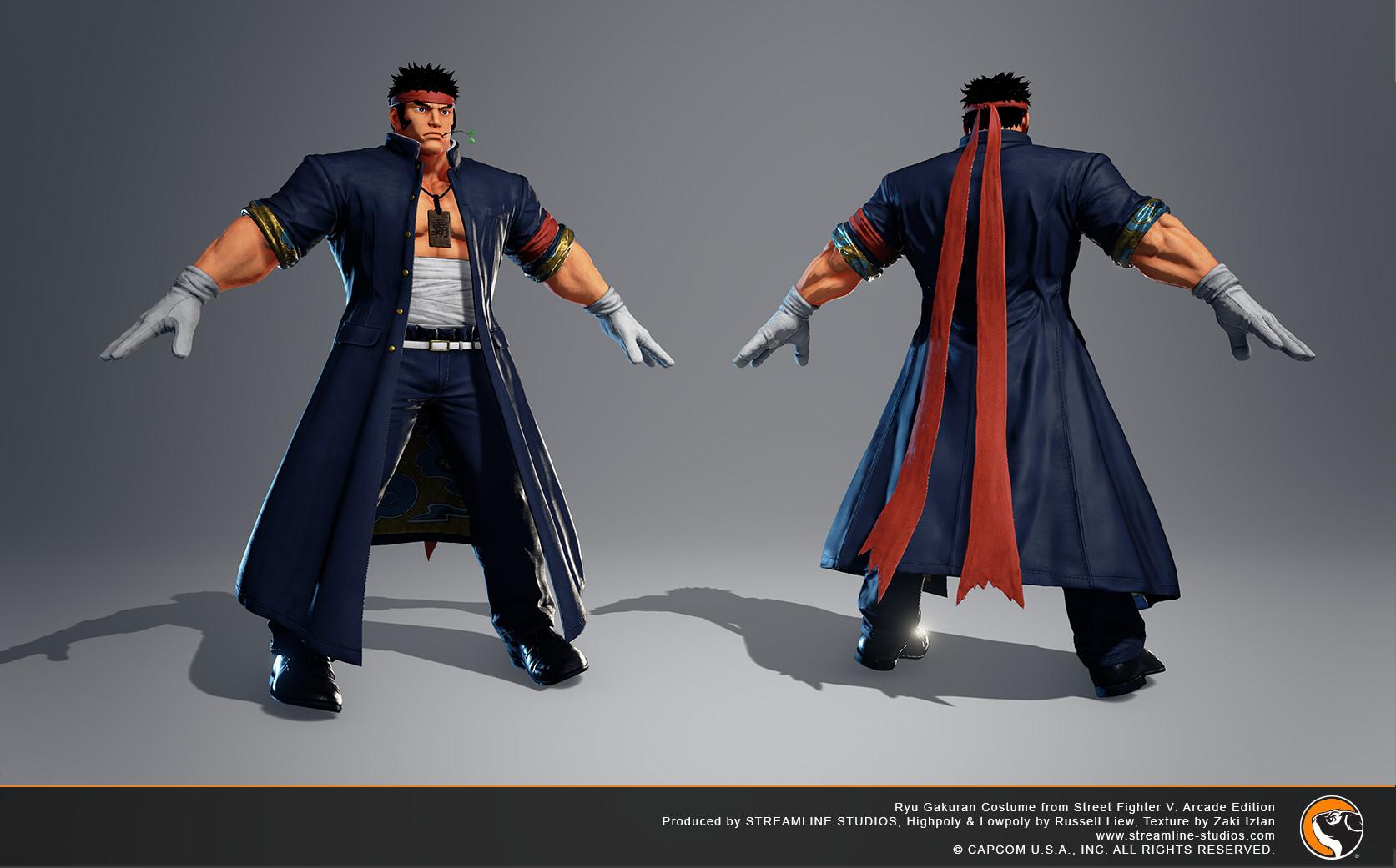 Zaki Izlan Street Fighter V Arcade Edition Ryu School