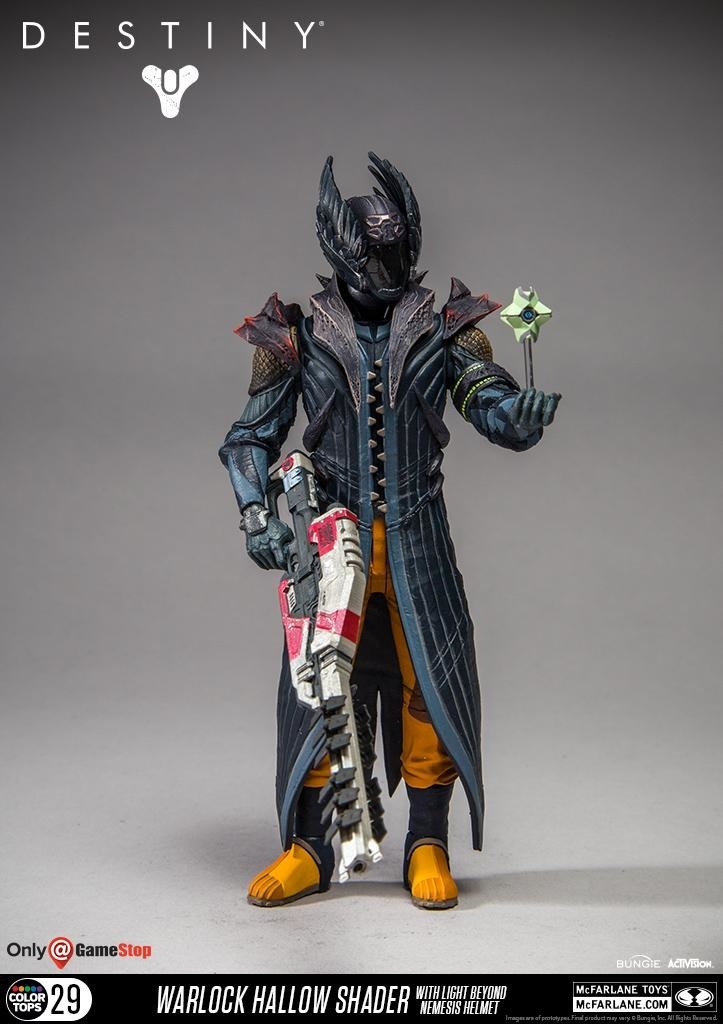 Mcfarlane Toys - Destiny: Warlock Hallow Beyond Nemesis - Action figure