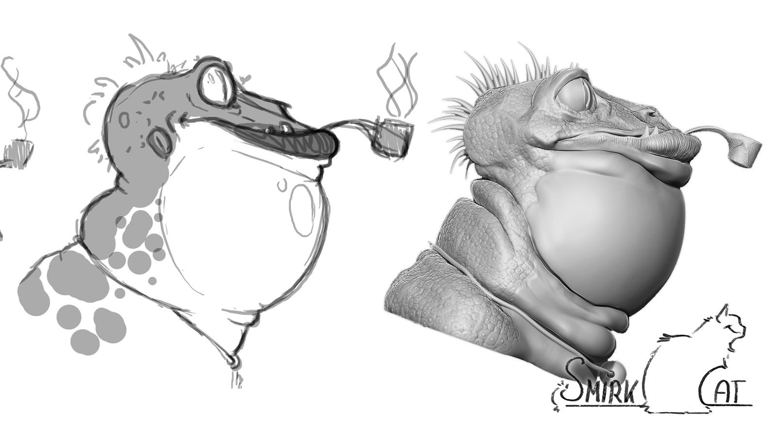 Smoking Toad Guy