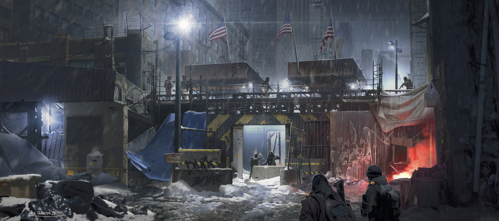"""""""The Division""""   -   Personal Painting"""