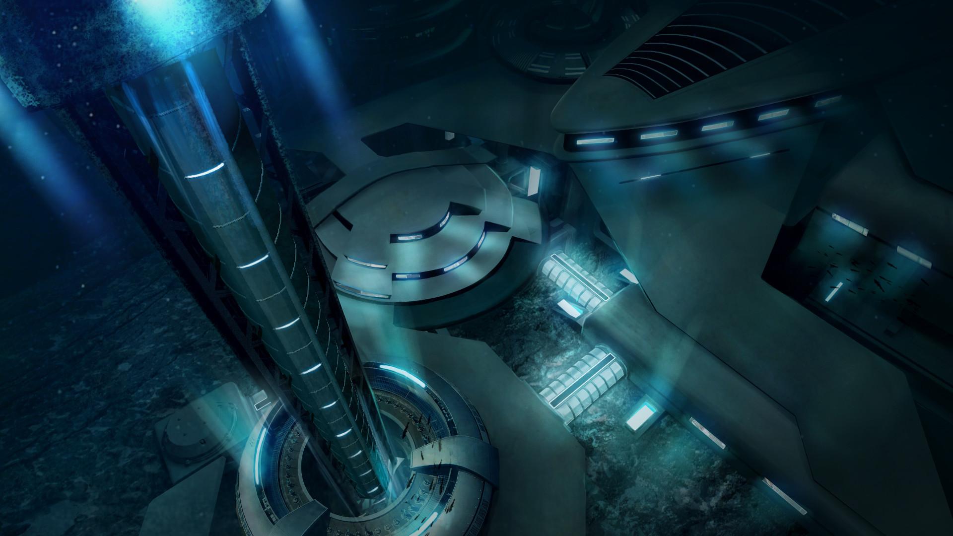 Eva kedves underwater base concept ke v010 jav