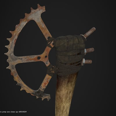 Post-Apocalyptic Axe