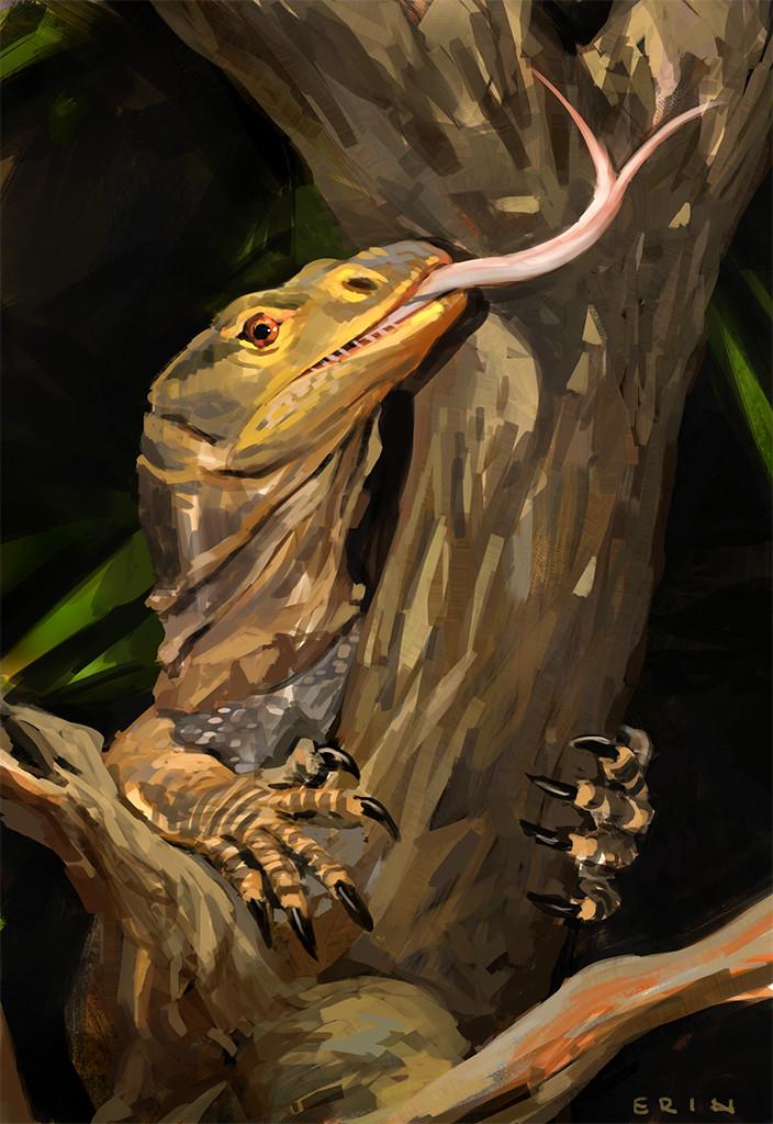 Erik nilsson lizardpaint