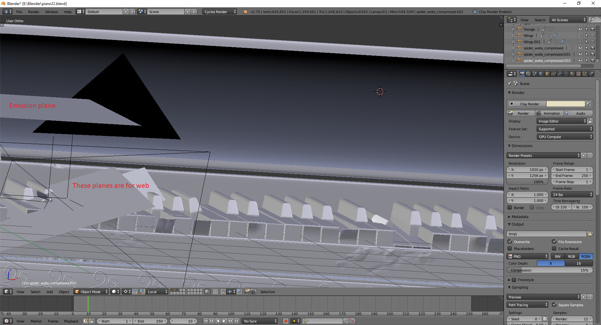 Workbench with plane. As you can see only one light source + HDRI