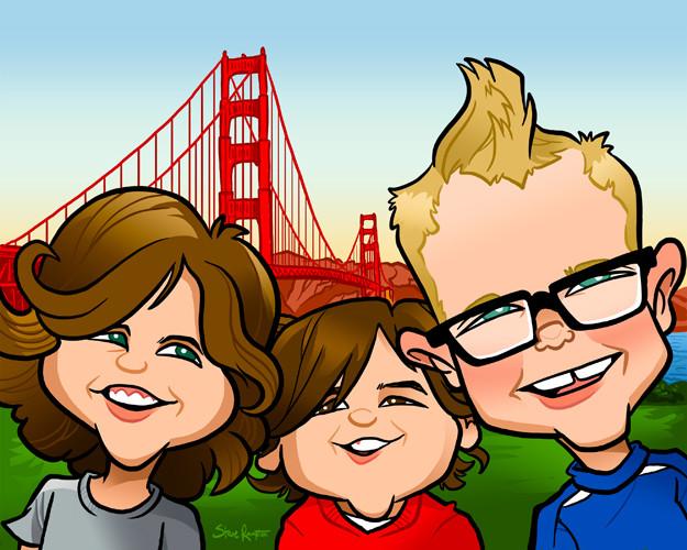 Matt's boys at the Golden Gate. 2018