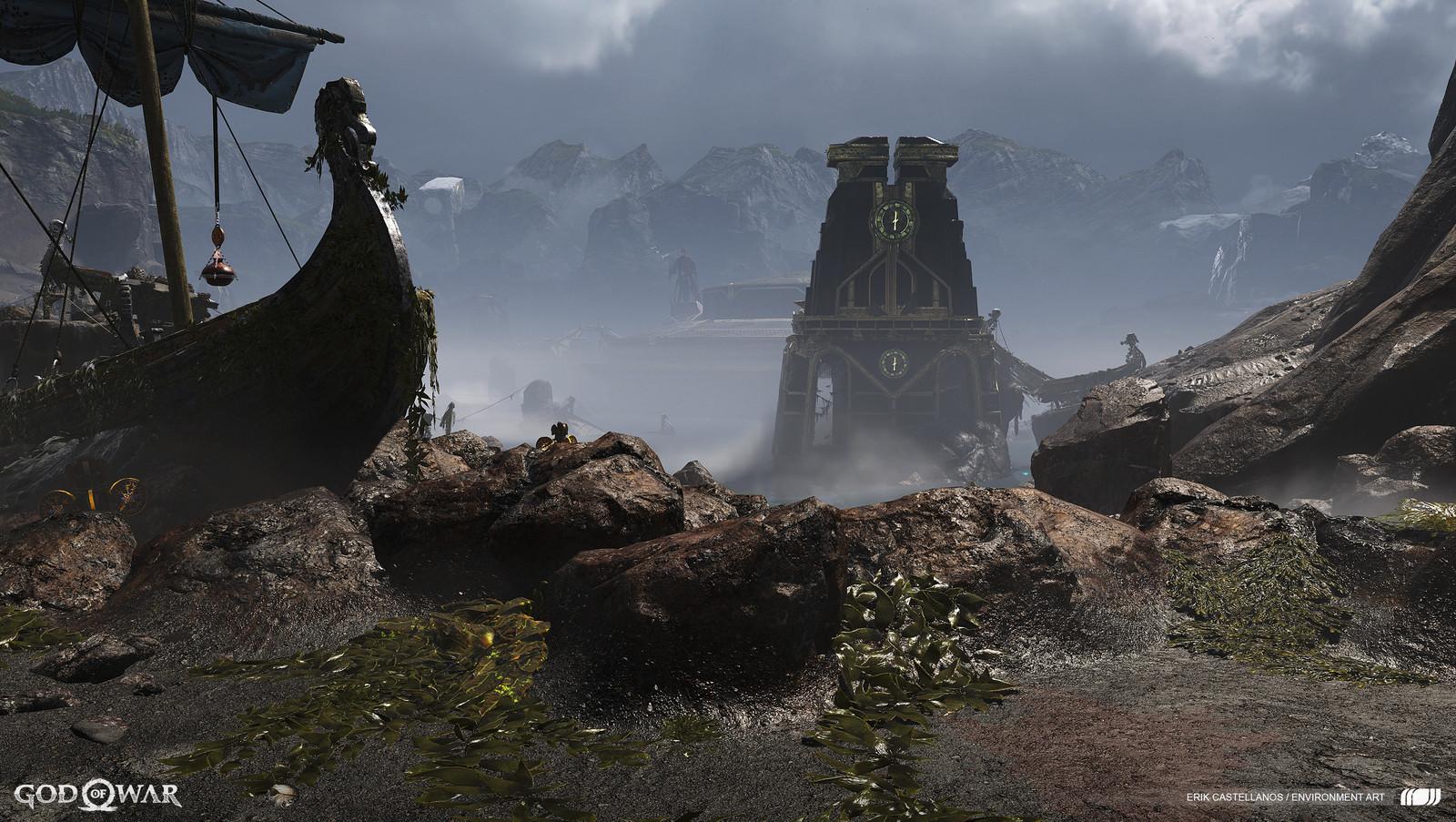 God of War Environment Art