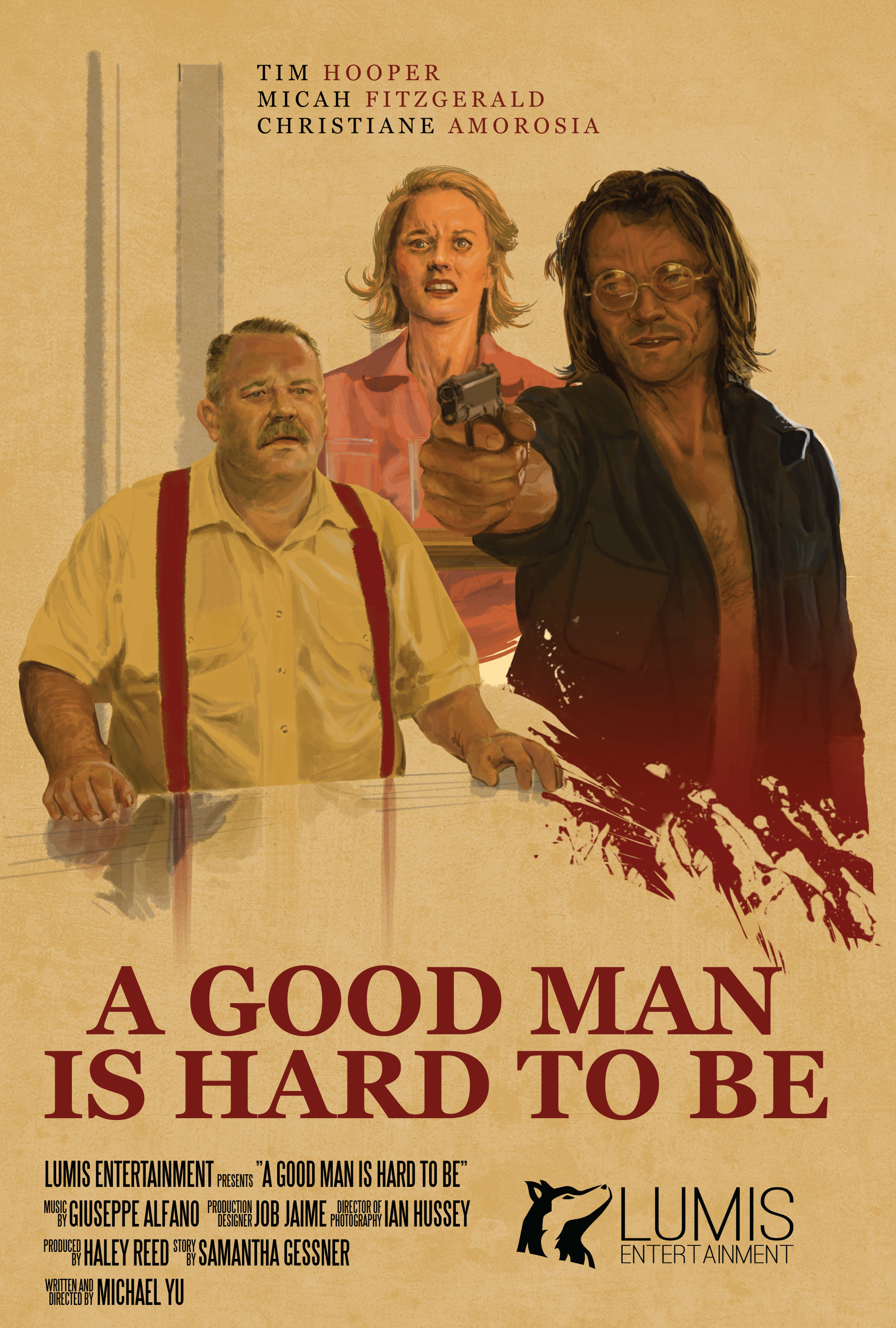A Good Man is Hard to Be: Movie Poster, 2018