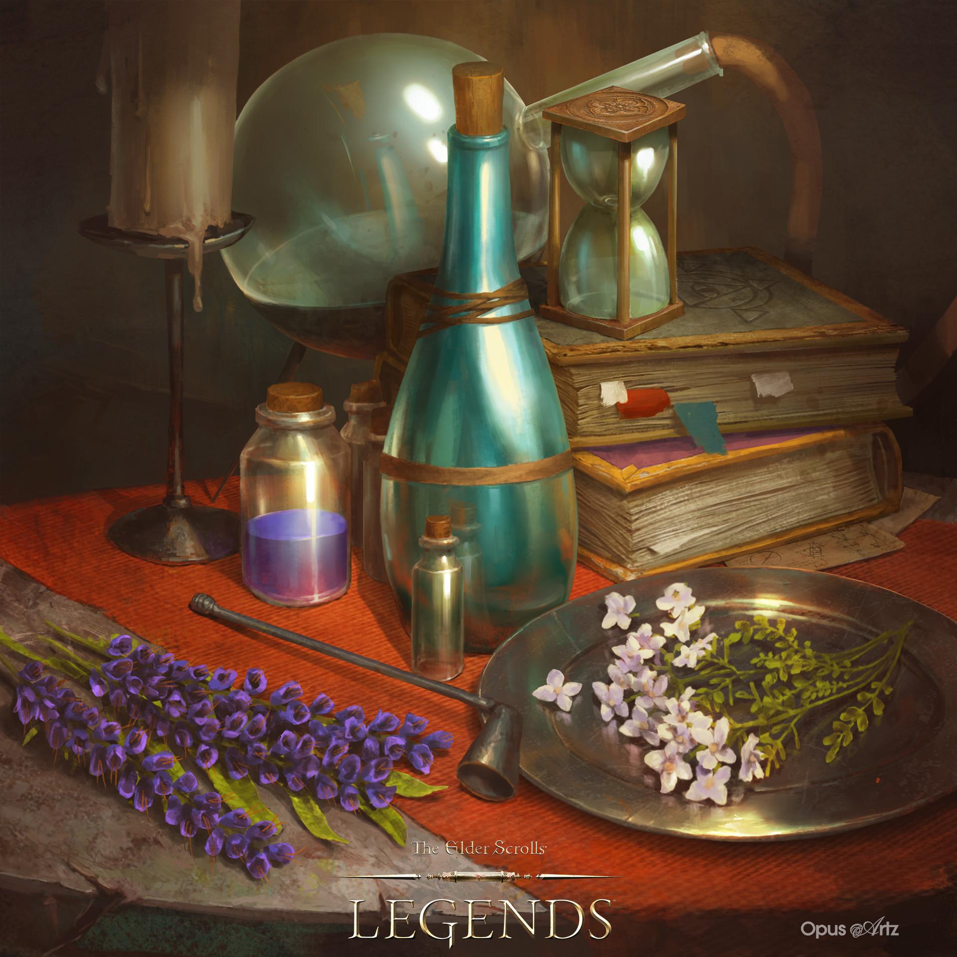 Opus artz tesl elixir of magicka