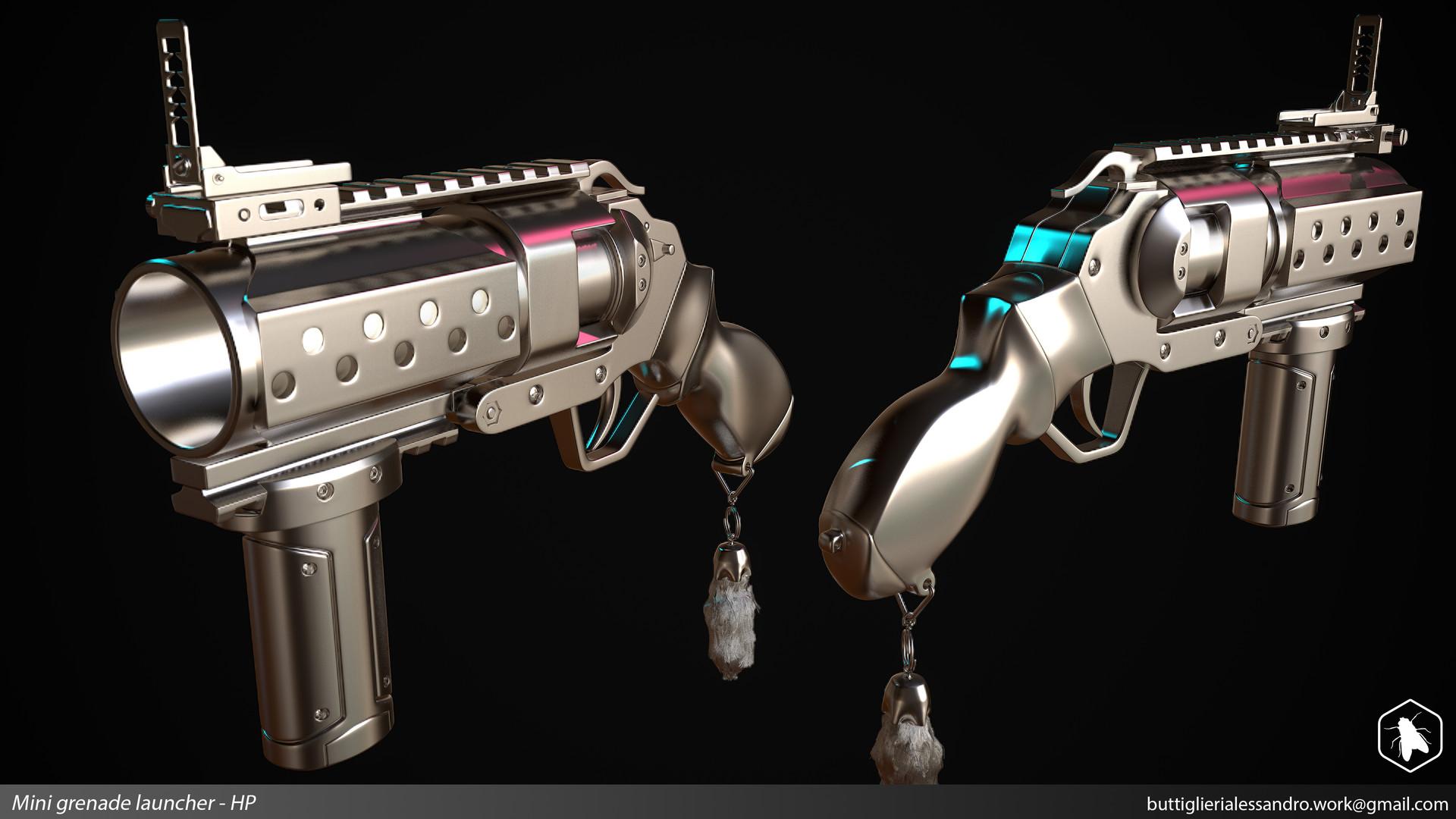 Alessandro buttiglieri mini grenade launcher hp
