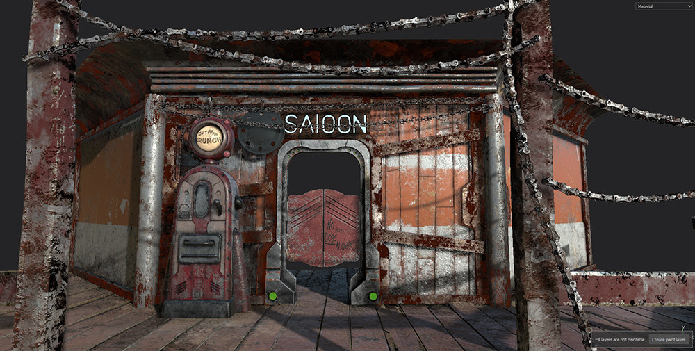 Kevin beckers saloon