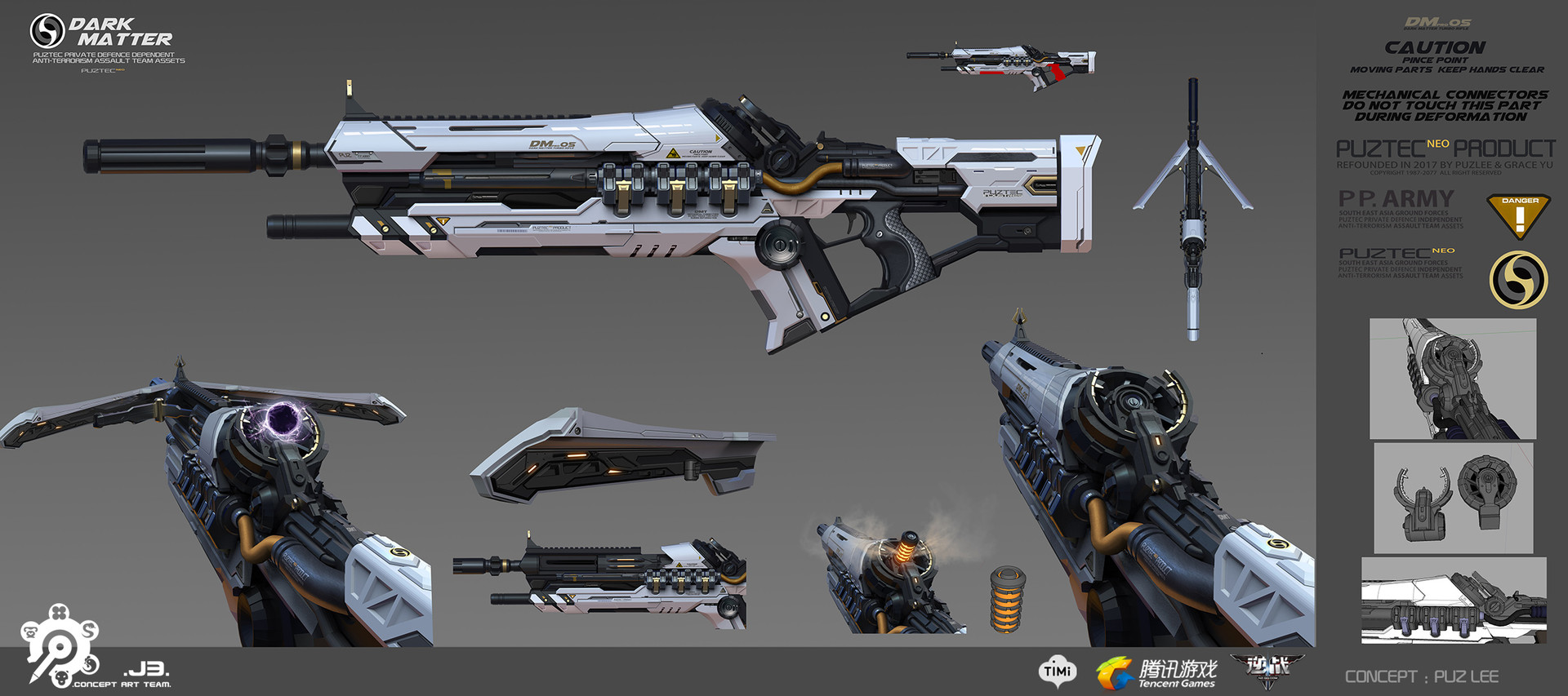 Puz lee dark matter rifle