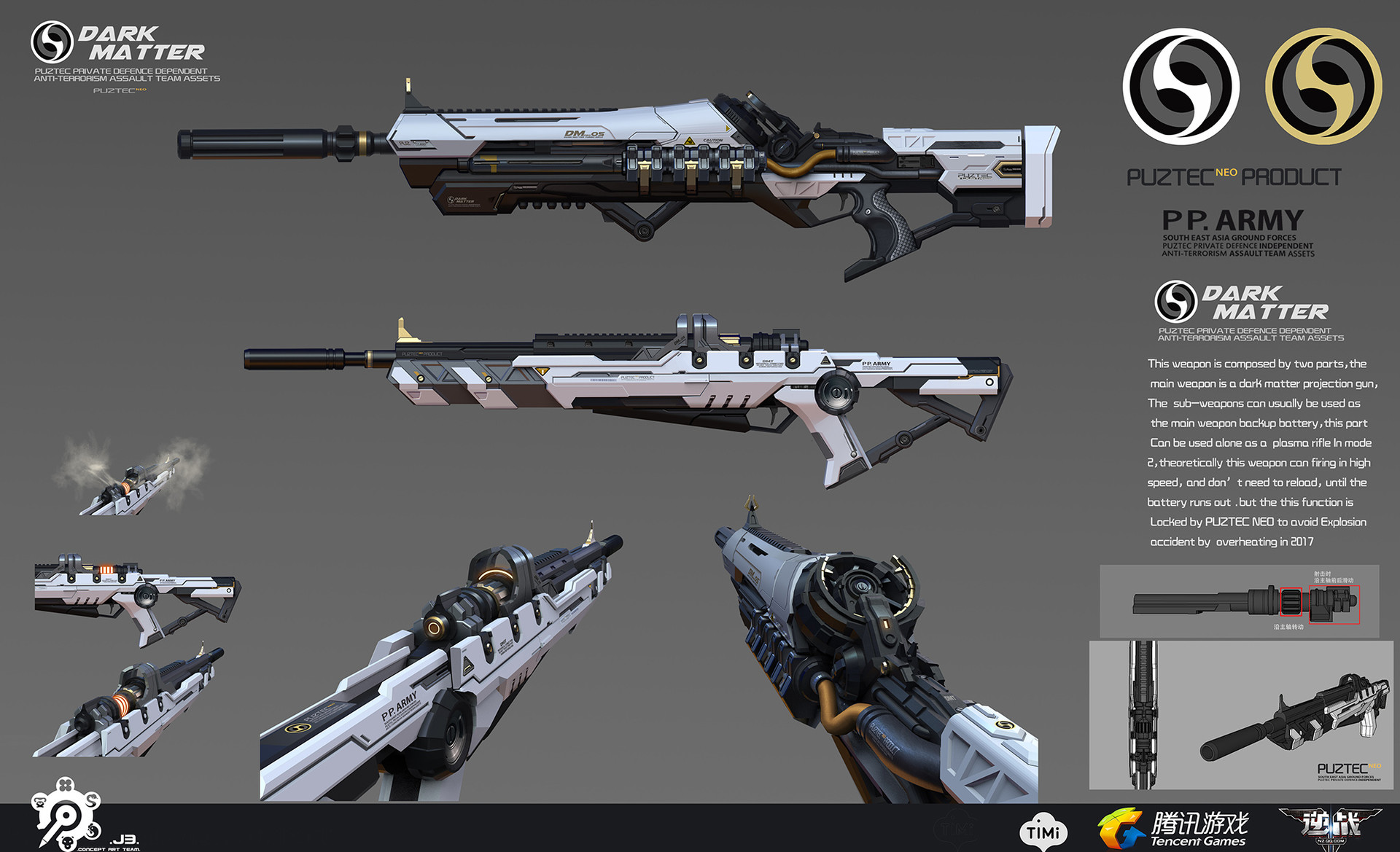 Puz lee dark matter rifle mode 2