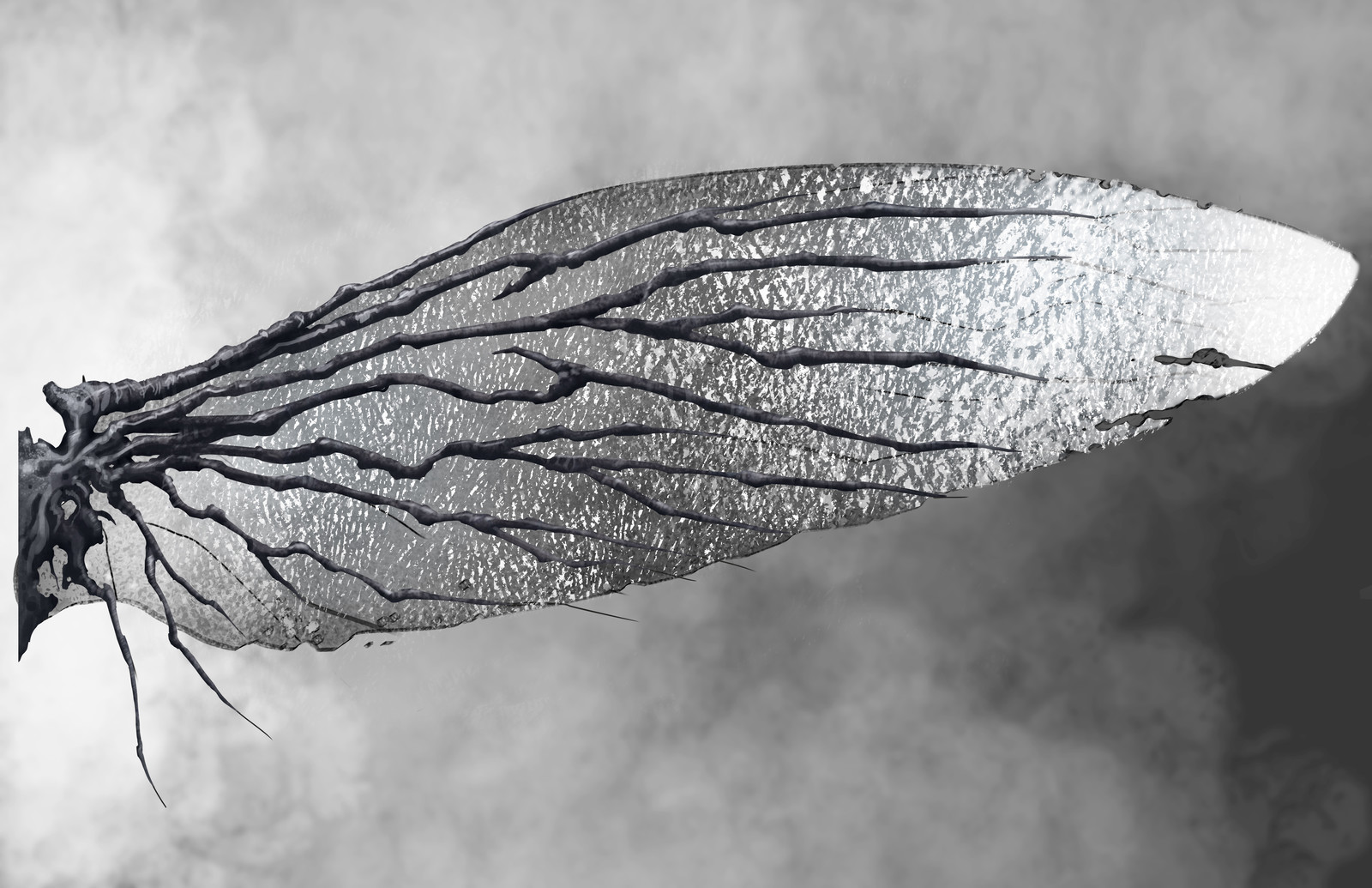 Dark Elf wing concept