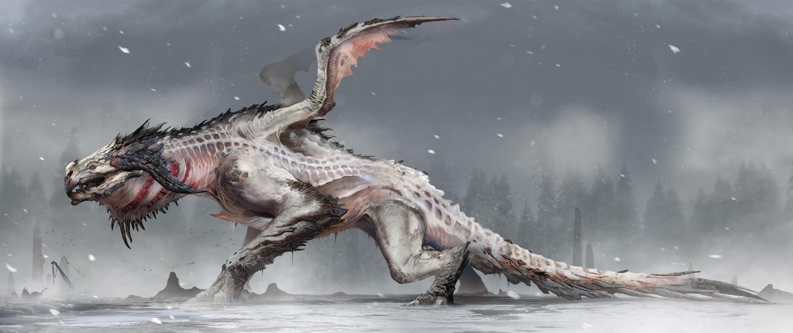Hraezlyr Dragon Concept