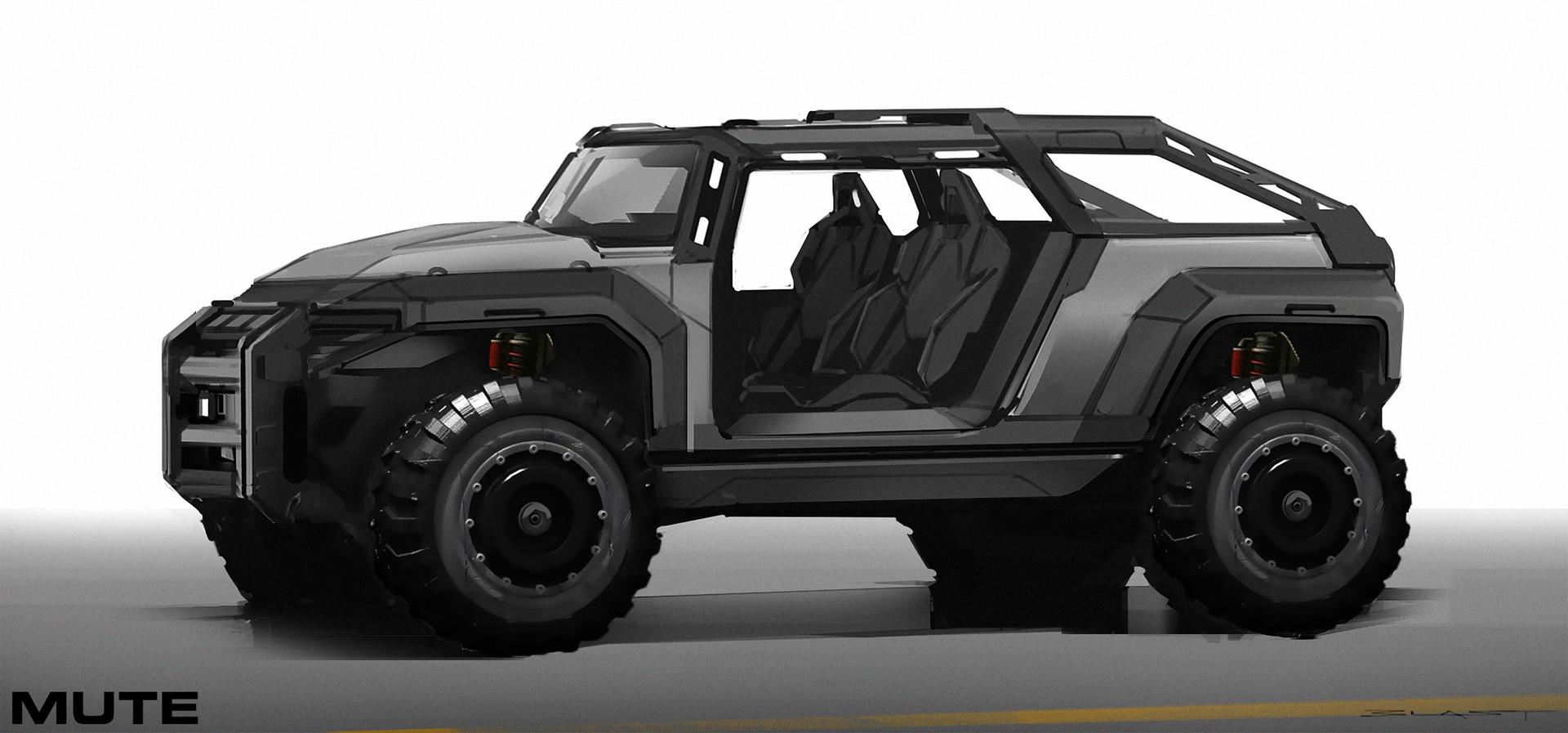 Benjamin last mute jeep sketch4 blast
