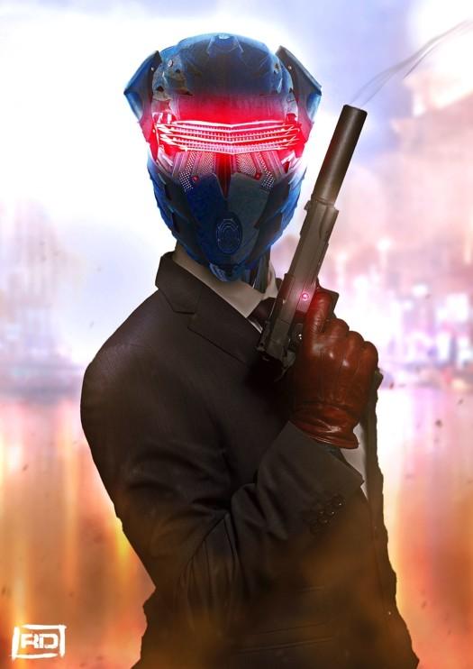 """""""Secret Agent 005"""" (photo-bashing)"""