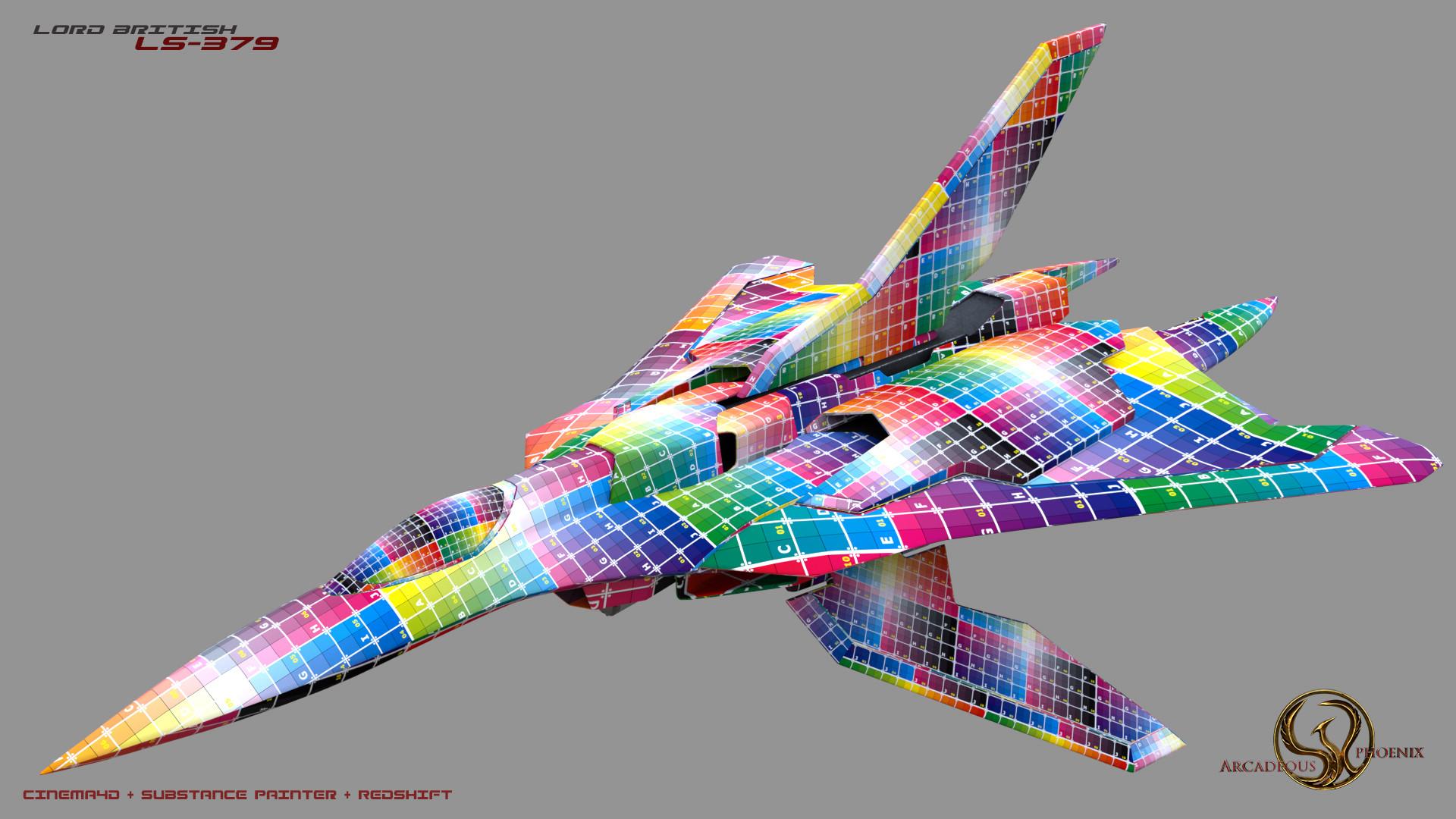 Arcadeous phoenix salamander lord british 0035