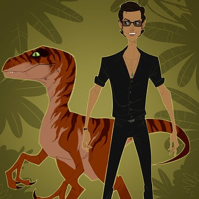 Christopher ables malcolm and raptor