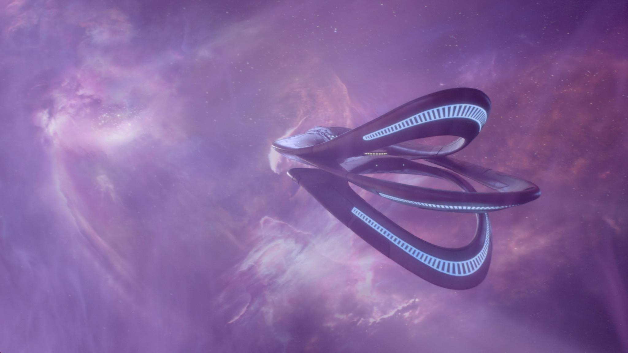 Orville: Opening Credits, Nebula -  Photoshop