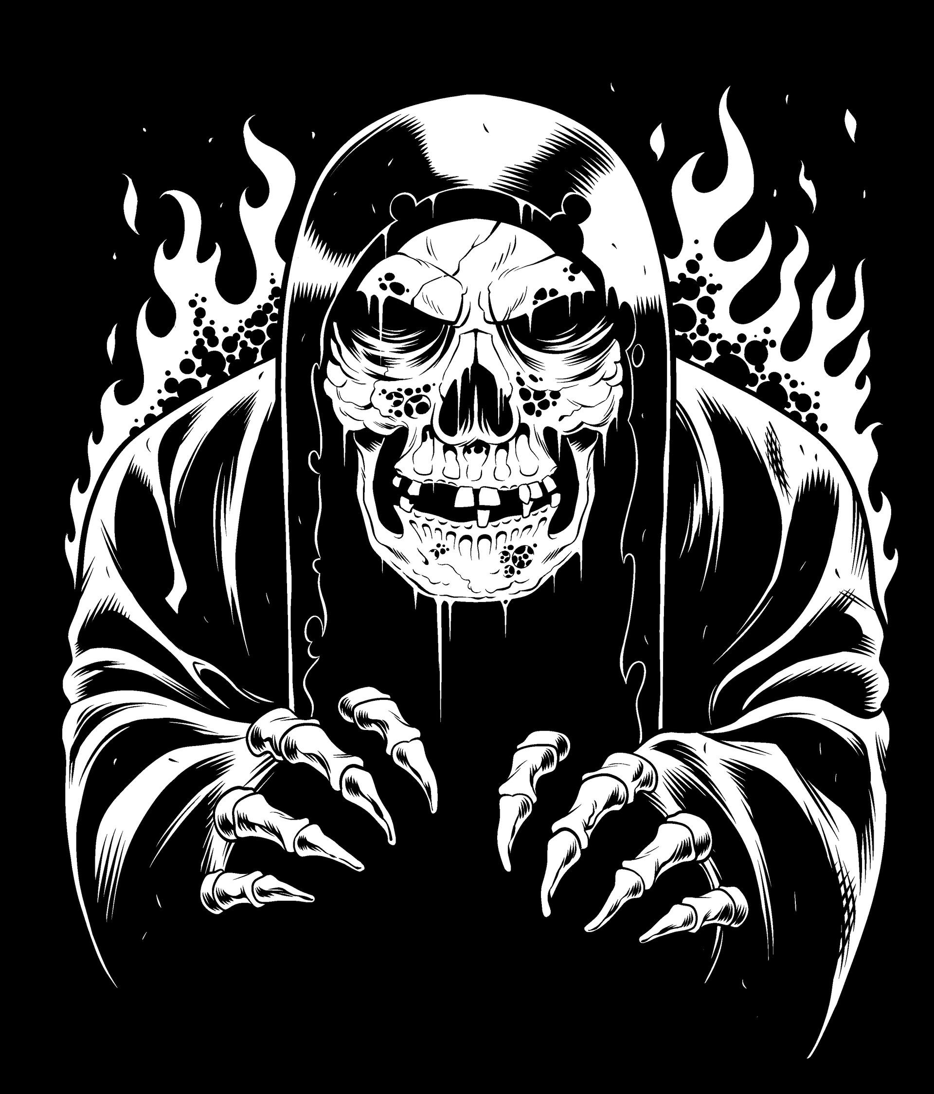 Tom martin skeleton reaper
