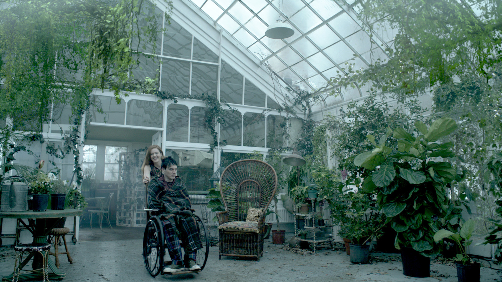 Gotham: Ceiling Vines Photoshop and Modo