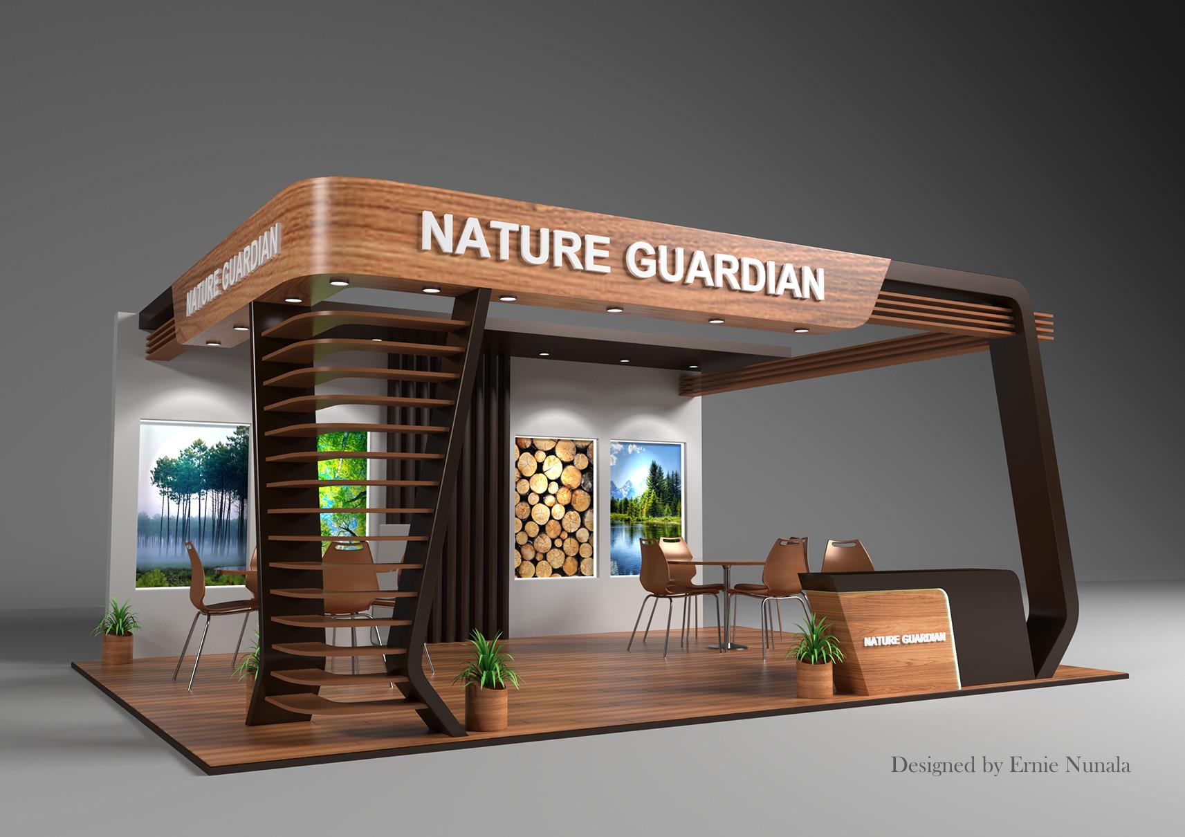 Exhibition Booth Design : Artstation exhibition booth design ernie nunala