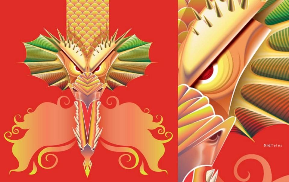 some vector dragon