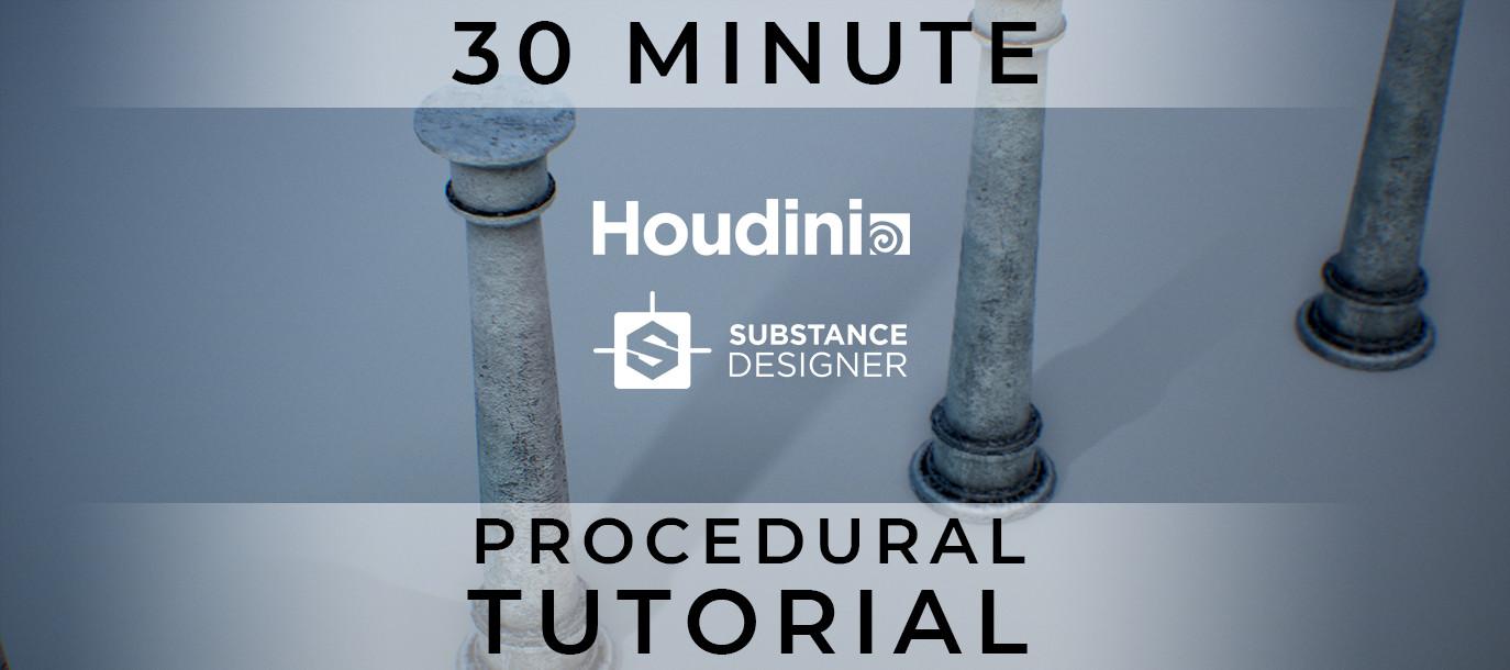 ArtStation - Substance & Houdini Procedural Asset Tutorial