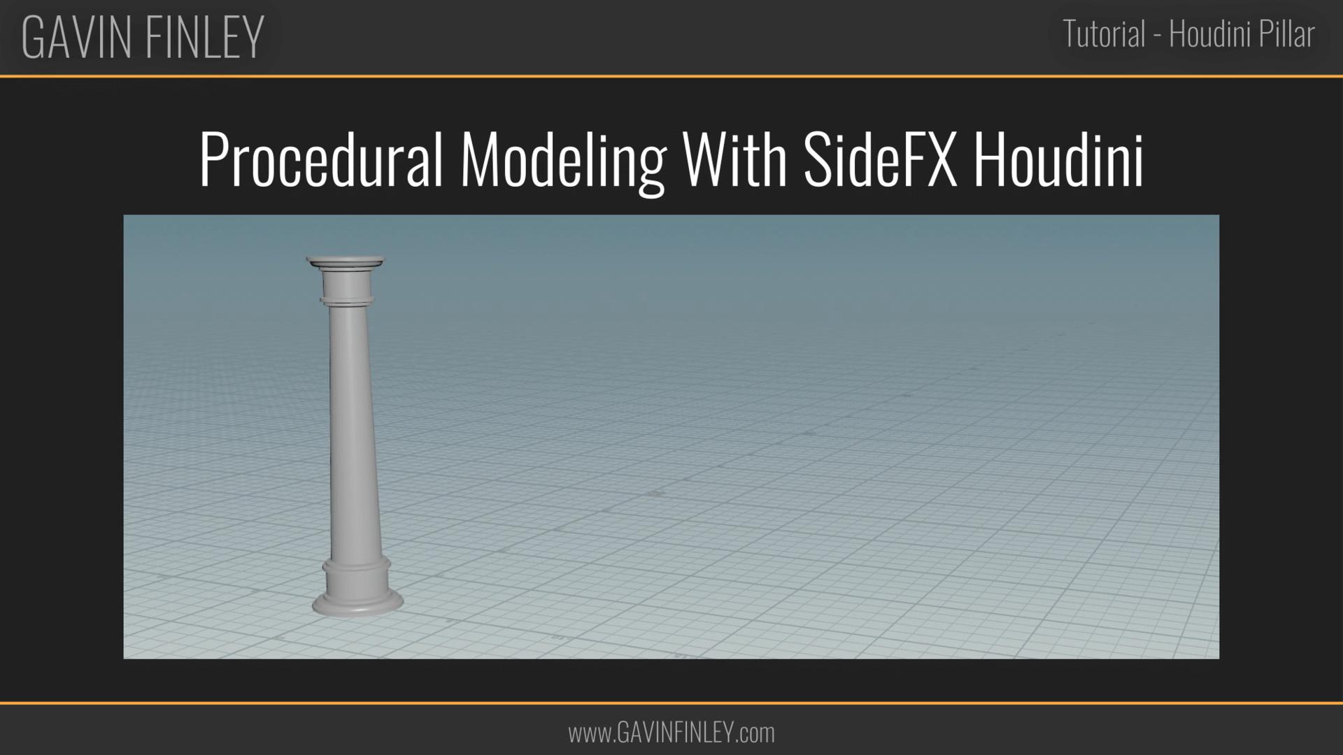 Gavin Finley 3D Technical Artist Portfolio - Substance & Houdini