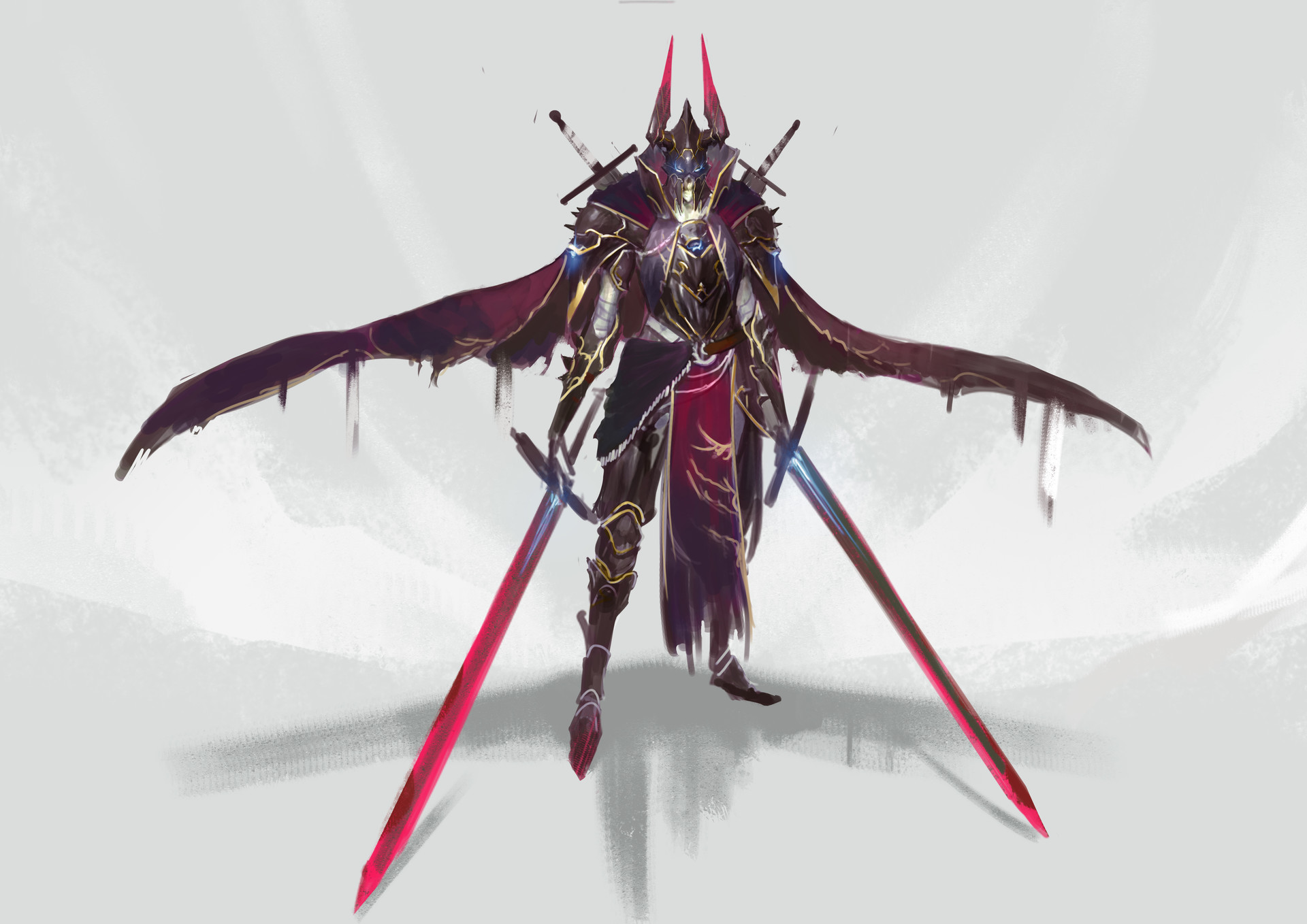 Jeff chen death knight concept