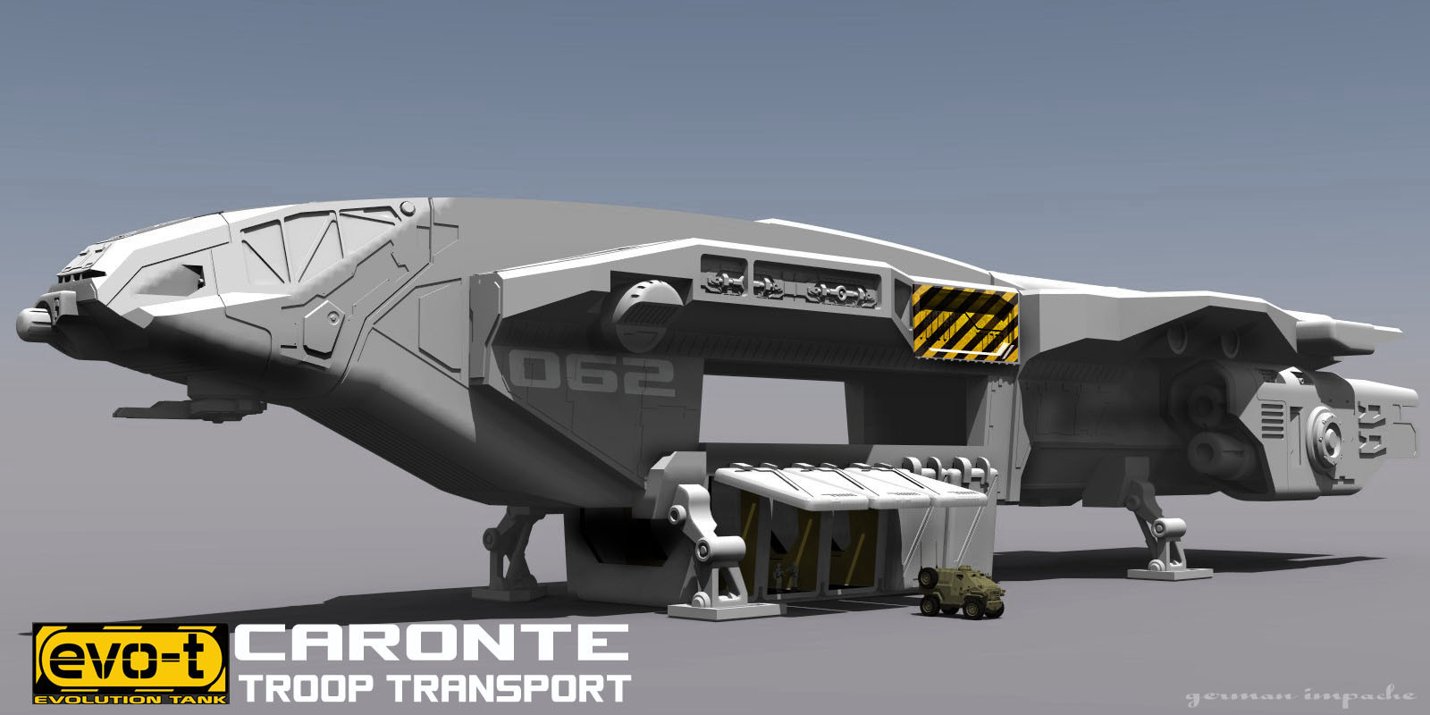 CARONTE Troop Transport