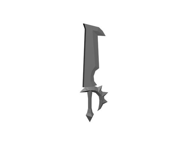 Kerrian detay sword