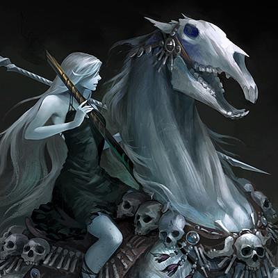 Sandara tang horse2