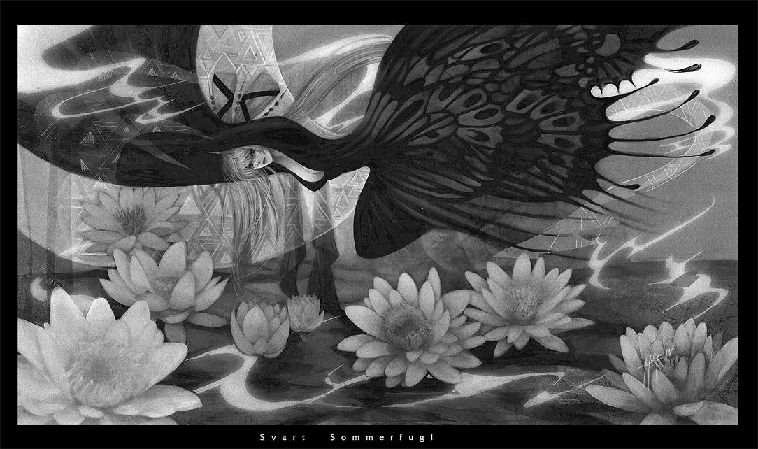 Sasi tanadeerojkul svart sommerfugl by meisan
