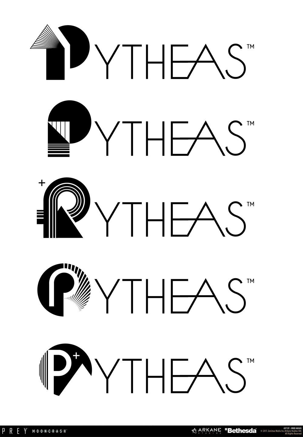 Fred augis pytheas logo textv4
