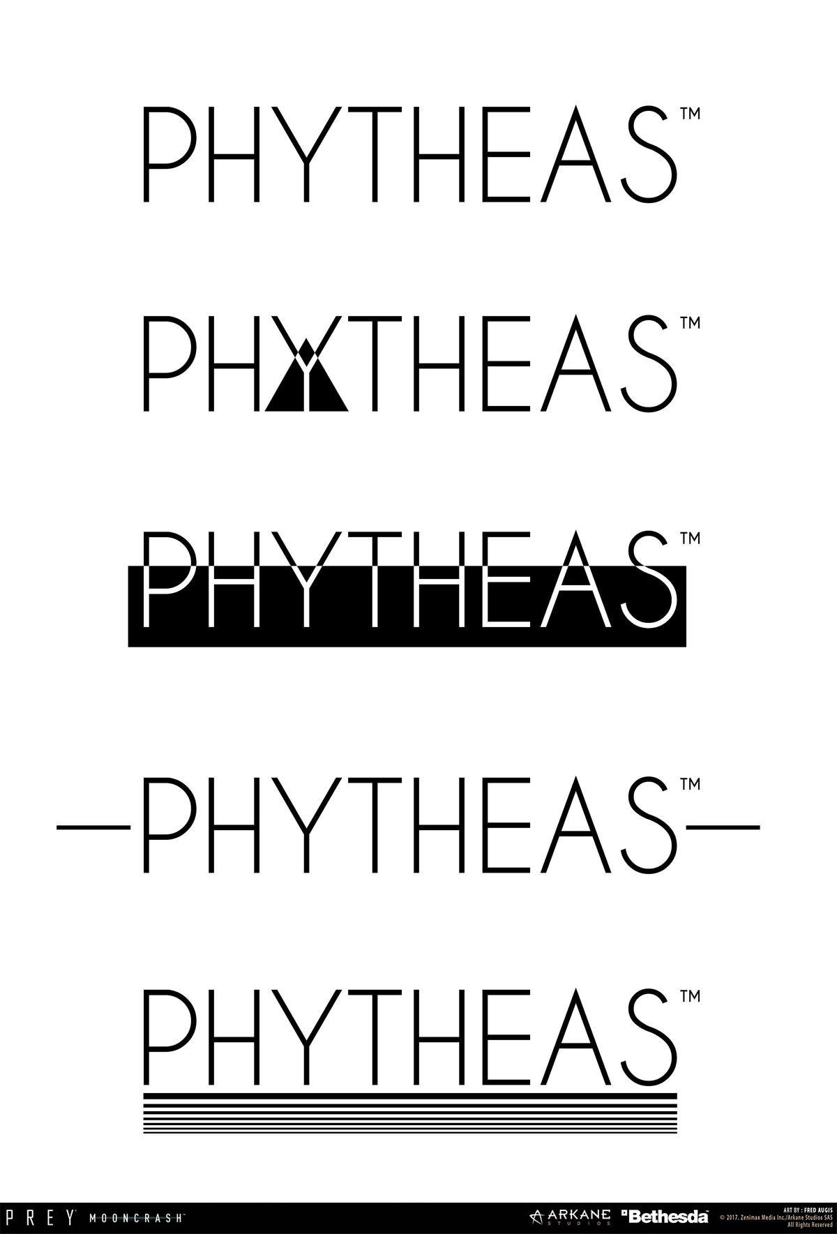 Fred augis pytheas logo text