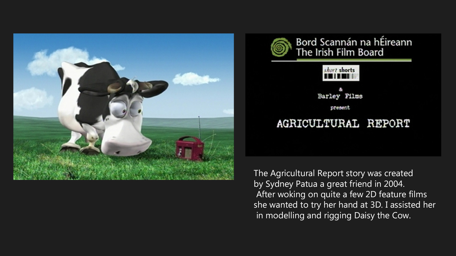 Agricultural Report