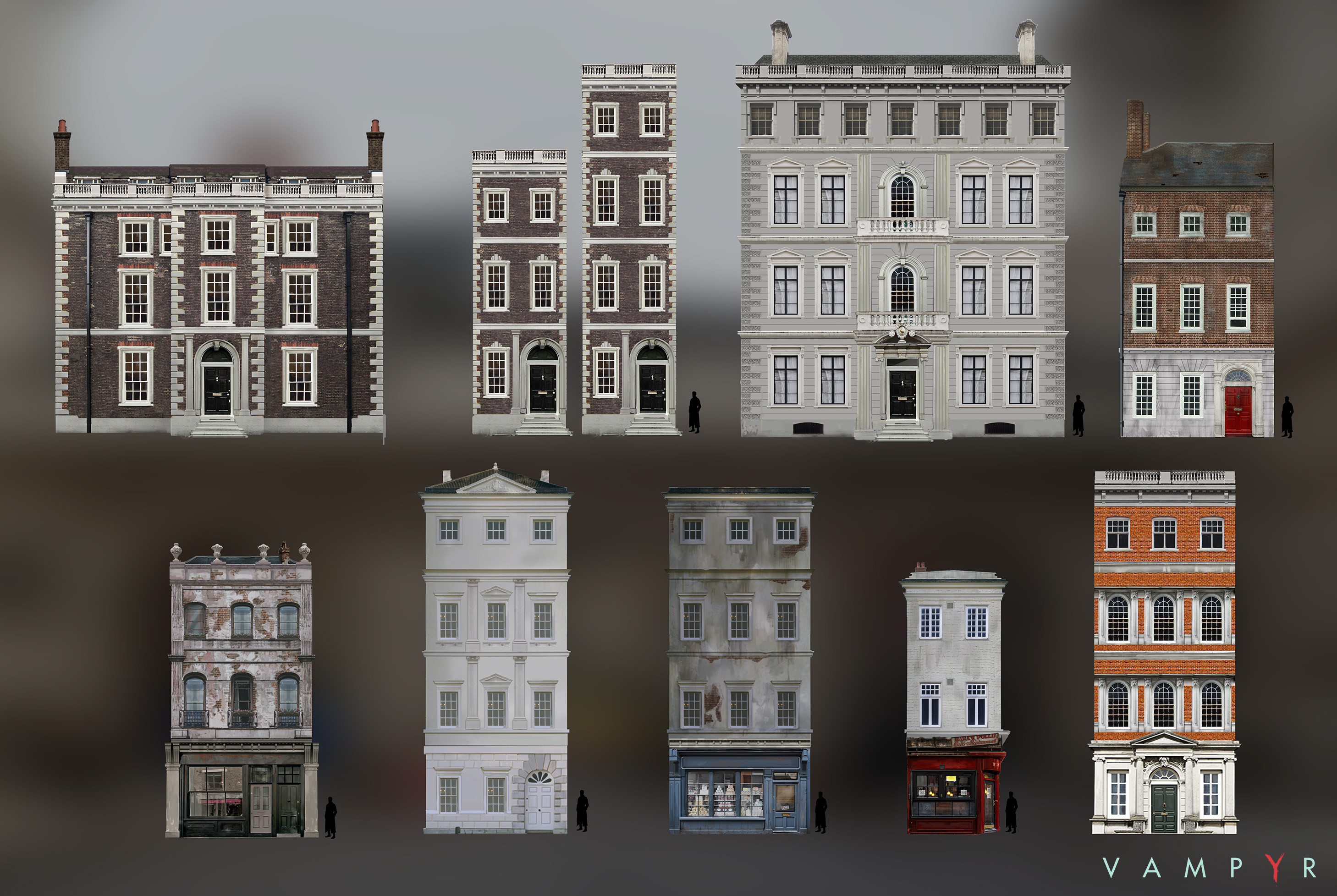 Georgian facades