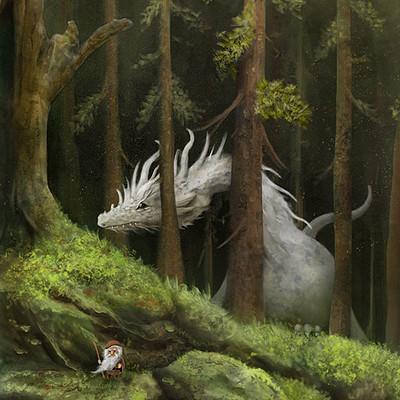 Alexander skachkov forest scene