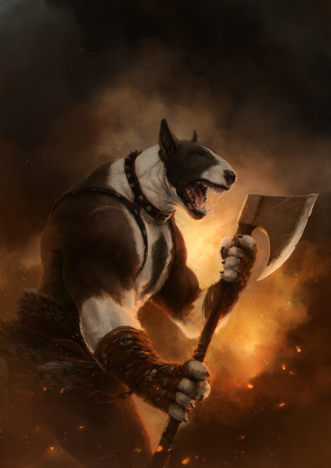 Bull Terrier Berserk
