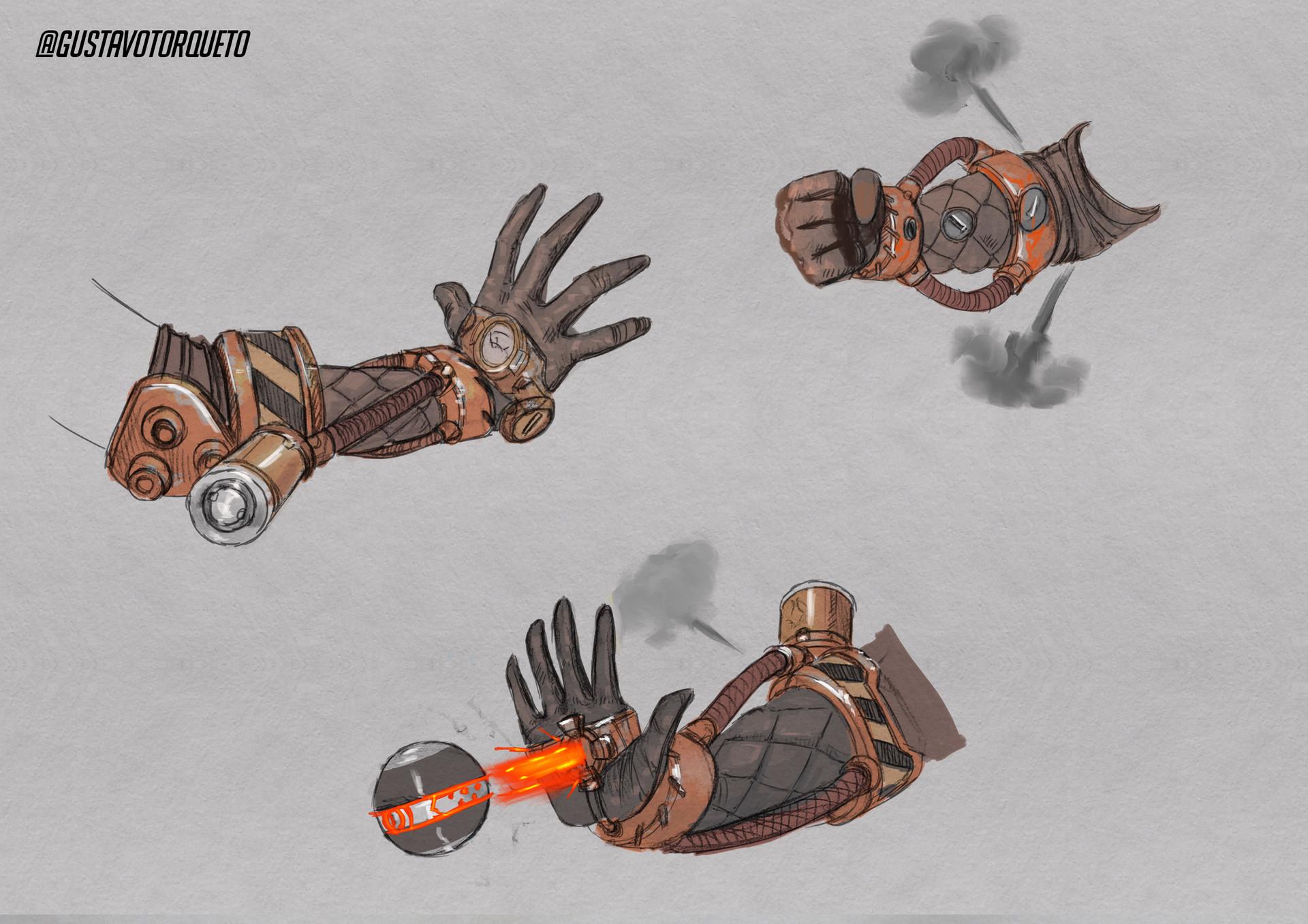 Gustavo torqueto 11 hand weapon