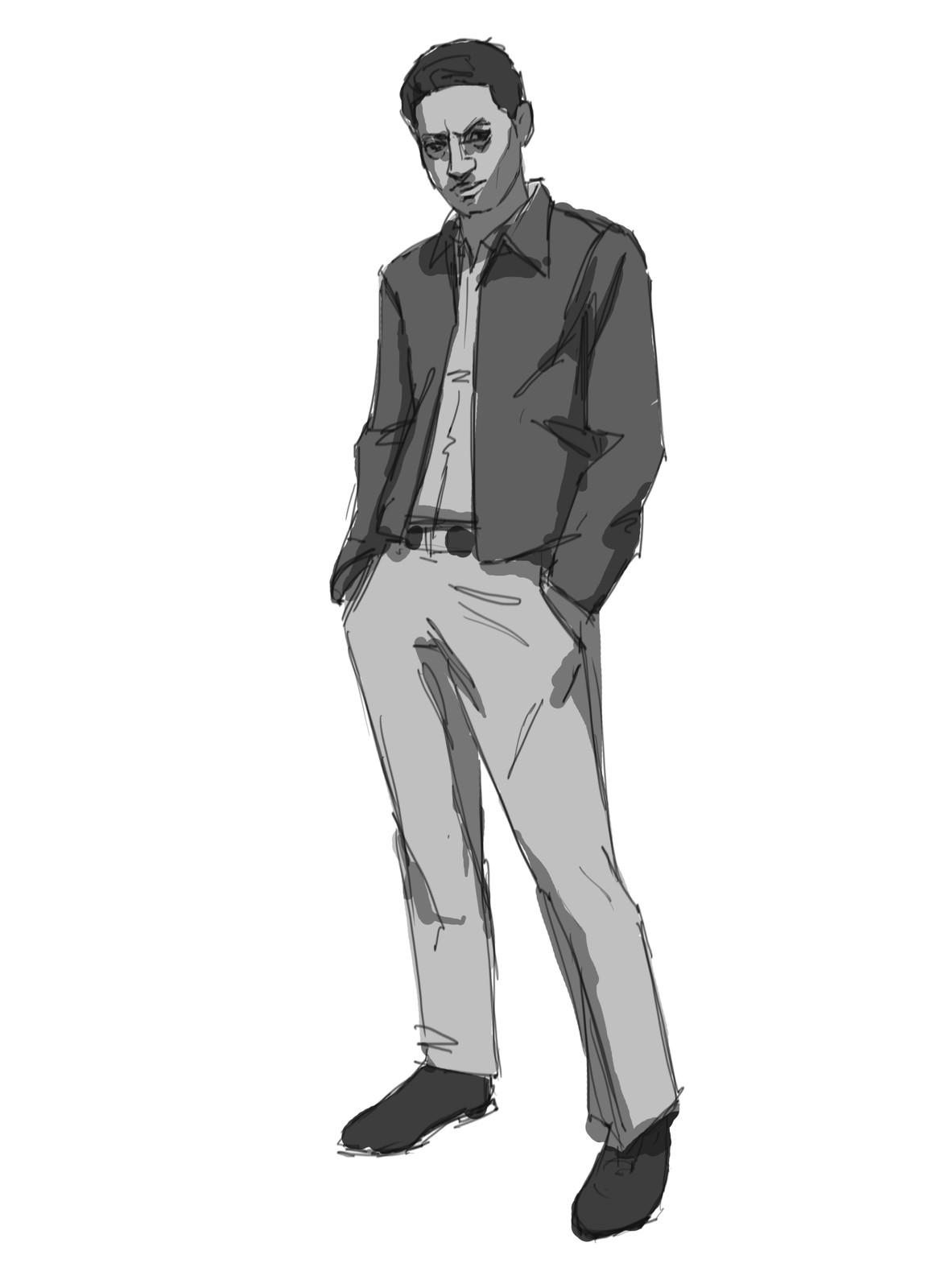 Hassan - Sketch