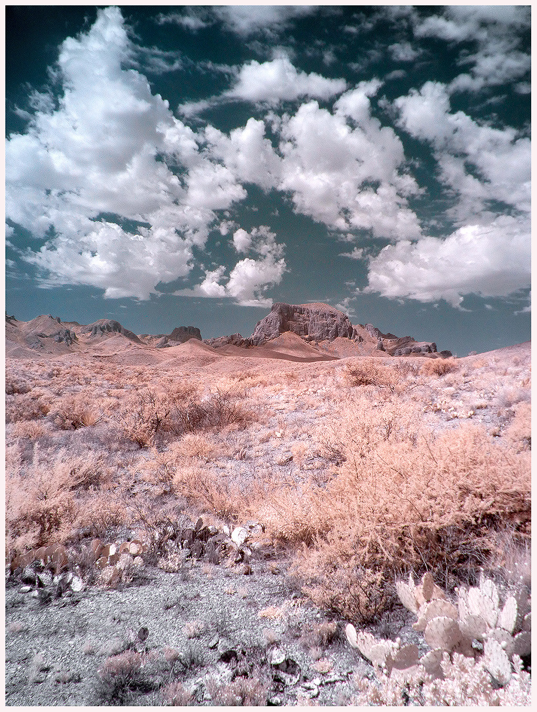 Big Bend infrared, 2013.