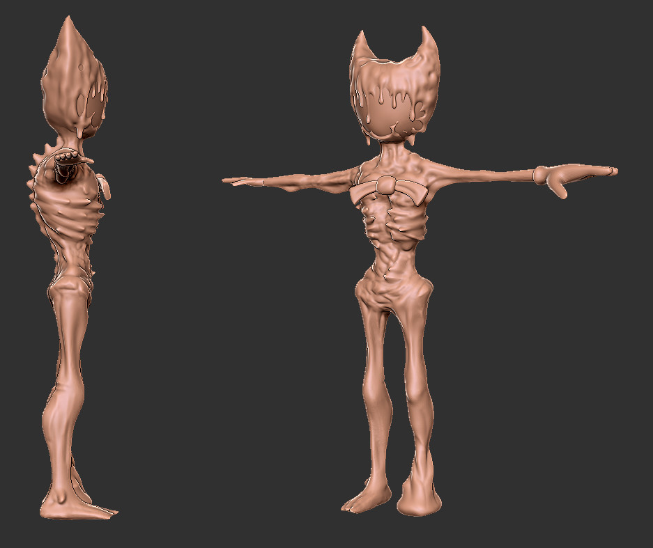 Bendy Ch4 high res sculpt