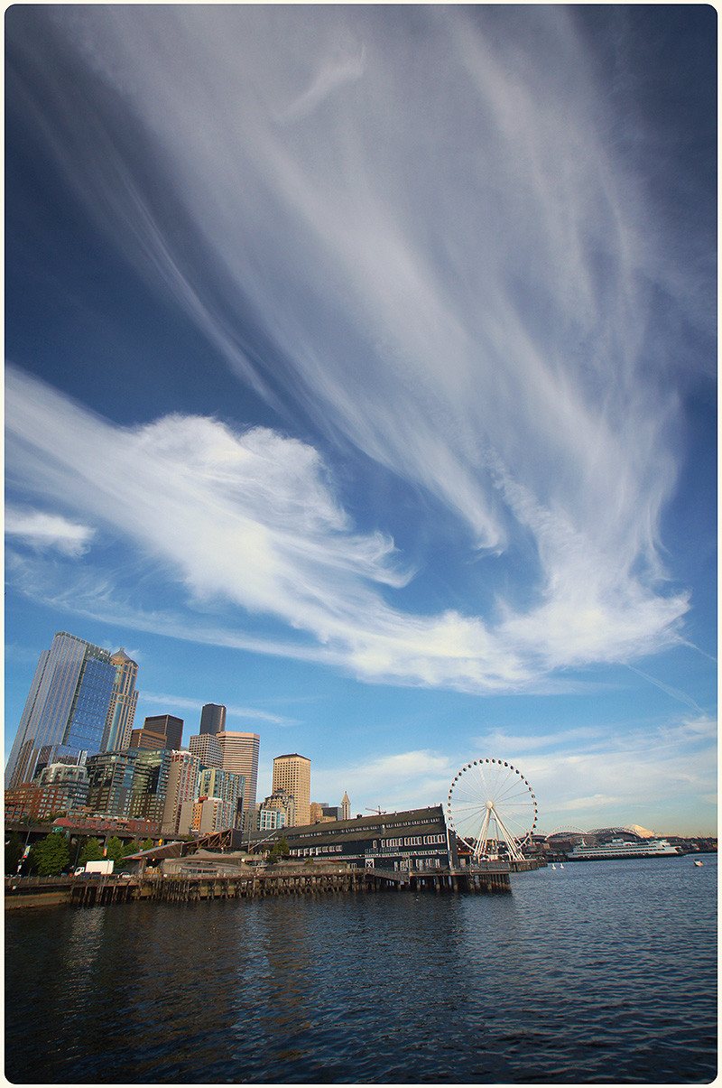Downtown Seattle, 2012.