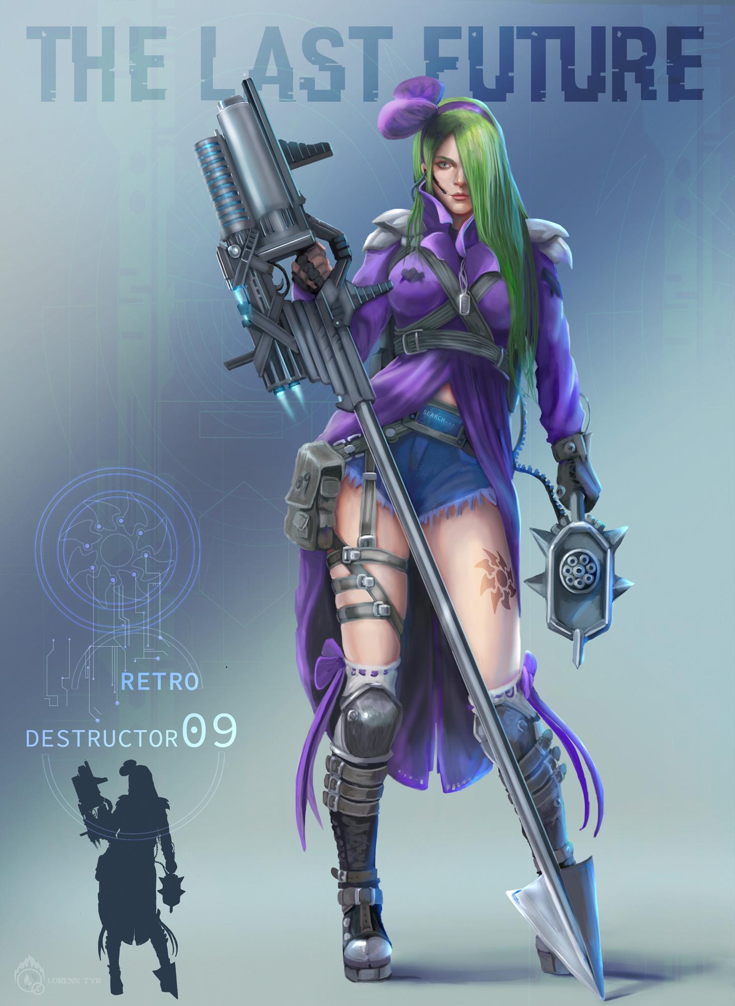 Lorenn tyr destructor 09 retro info
