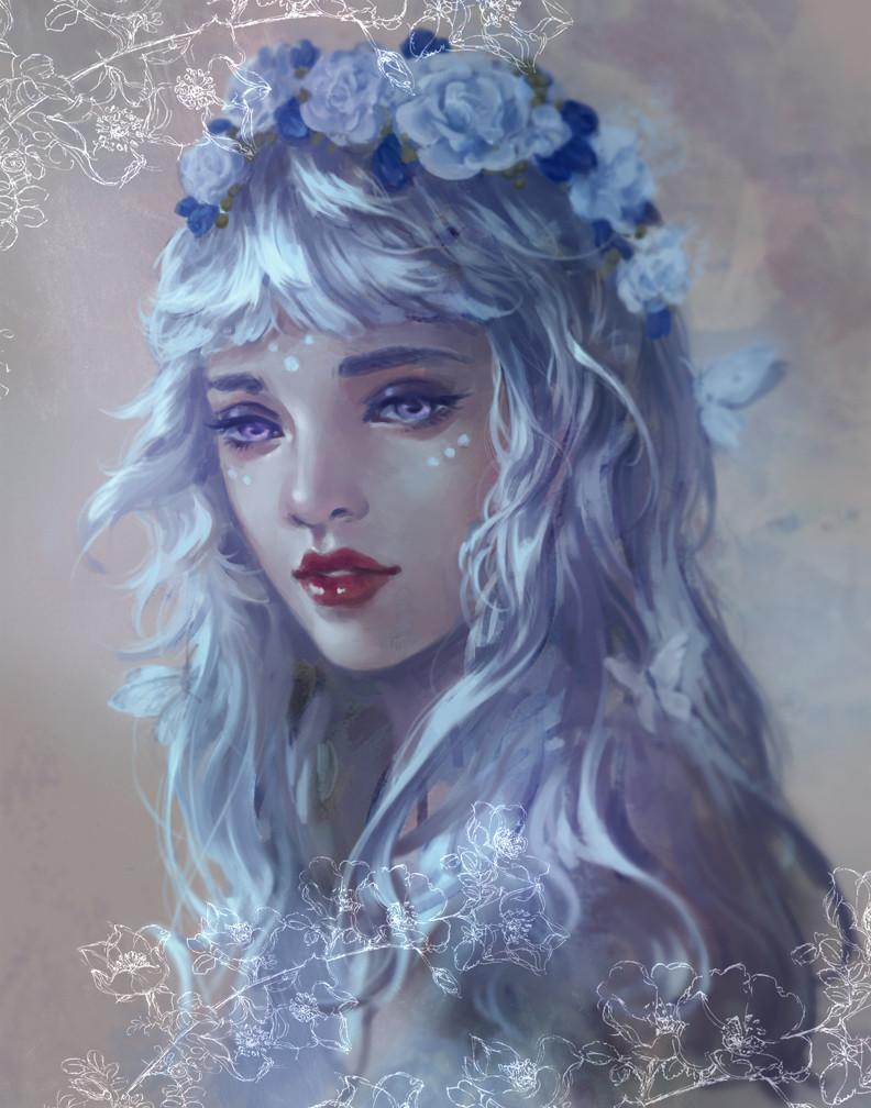 Flower Priestess
